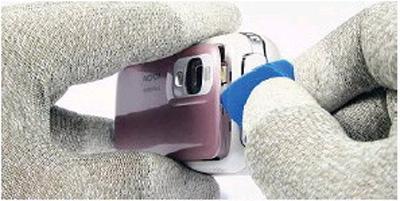 Как разобрать телефон Nokia 6111 (5)
