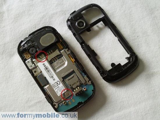 Как разобрать телефон Samsung B3410 (4)