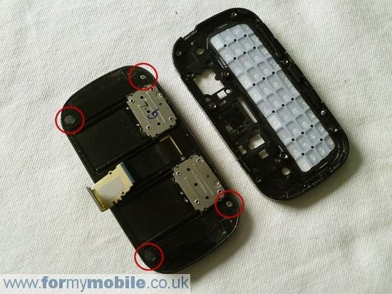 Как разобрать телефон Samsung B3410 (7)