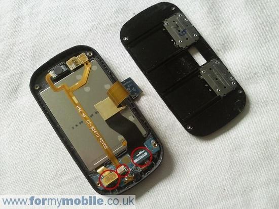 Как разобрать телефон Samsung B3410 (9)