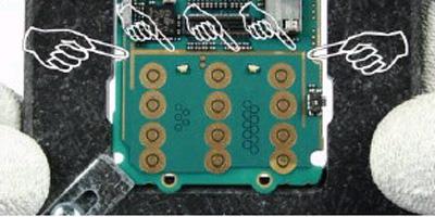 Как разобрать телефон Nokia 6111 (49)