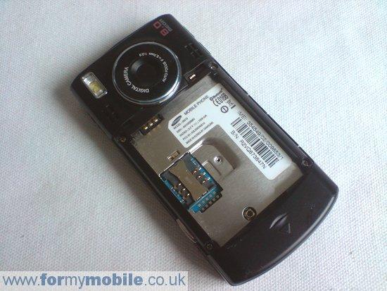 Как разобрать телефон Samsung i8510 INNOV8 (2)
