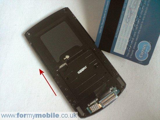 Как разобрать телефон Samsung i8510 INNOV8 (9)