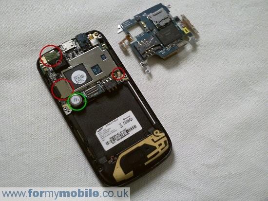 Как разобрать телефон Samsung Jet S8000 (6)