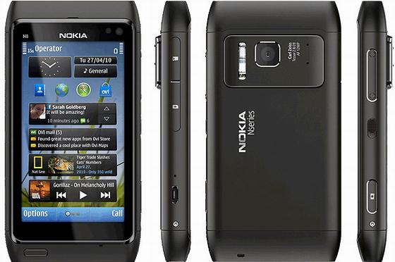 Как разобрать телефон Nokia N8