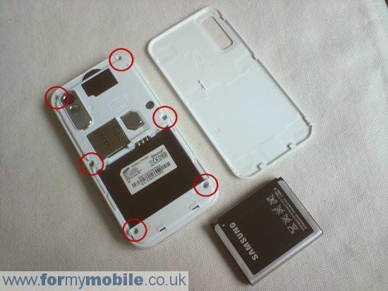 Как разобрать телефон Samsung Tocco Lite S5230 (2)