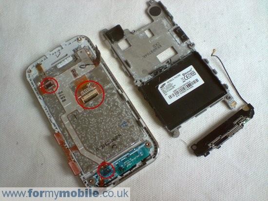 Как разобрать телефон Samsung Tocco Lite S5230 (6)