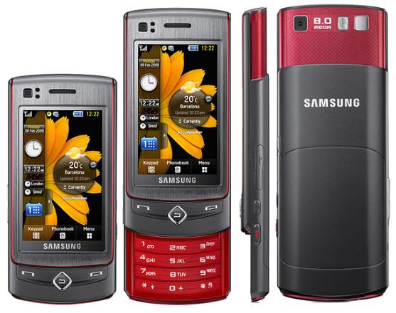 Как разобрать телефон Samsung Tocco Ultra S8300 (1)