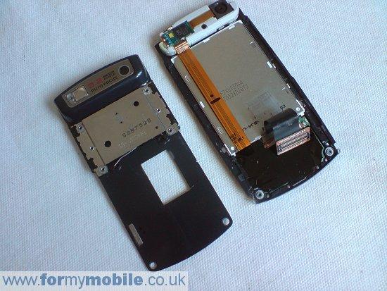 Как разобрать телефон Samsung U600 (11)