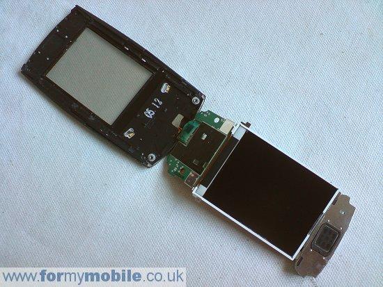 Как разобрать телефон Samsung U600 (12)