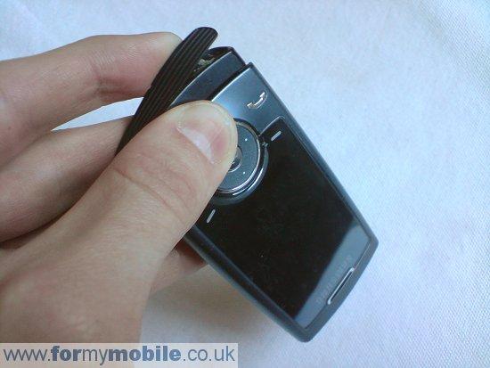 Как разобрать телефон Samsung U600 (5)