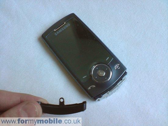 Как разобрать телефон Samsung U600 (6)