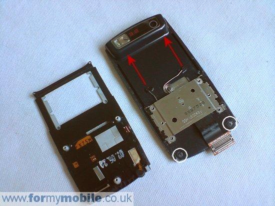 Как разобрать телефон Samsung U600 (10)