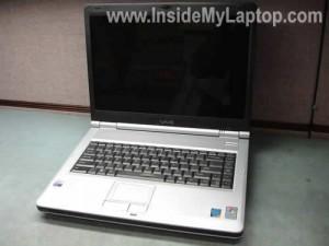 Как разобрать ноутбук Sony Vaio серии PCG-K