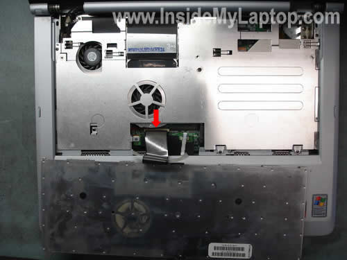 Как разобрать ноутбук Sony Vaio серии PCG-K (6)