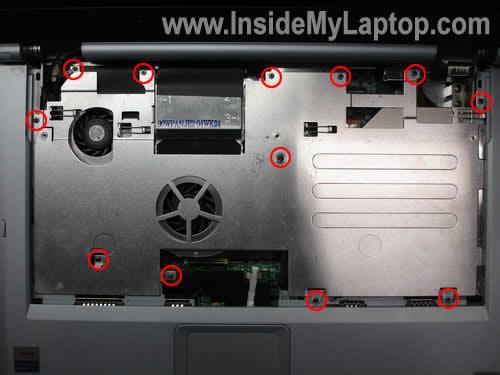 Как разобрать ноутбук Sony Vaio серии PCG-K (7)