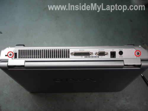 Как разобрать ноутбук Sony Vaio серии PCG-K (10)