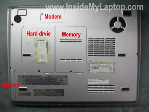 Как разобрать ноутбук Sony Vaio серии PCG-K (13)