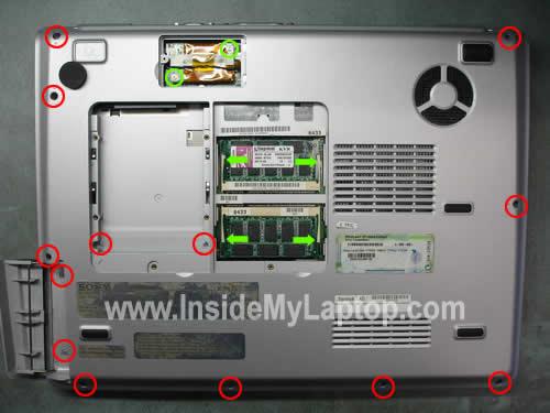Как разобрать ноутбук Sony Vaio серии PCG-K (15)