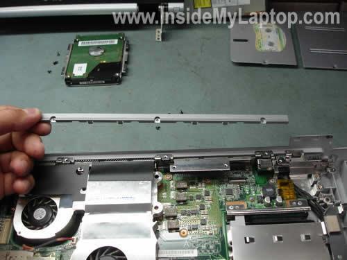 Как разобрать ноутбук Sony Vaio серии PCG-K (20)