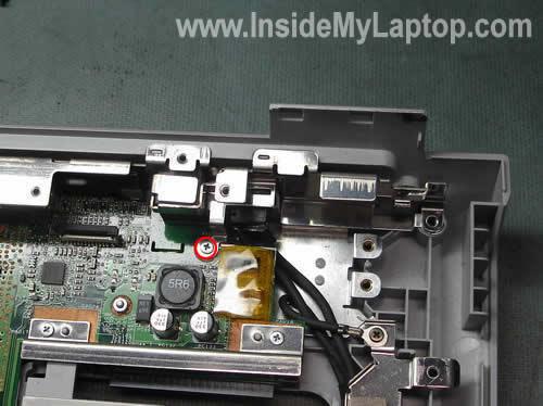 Как разобрать ноутбук Sony Vaio серии PCG-K (21)