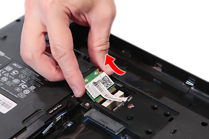 Как разобрать ноутбук Acer Aspire 5738DG/5738DZG, Aspire 5542G/5542/5242, Aspire 5738G/5738ZG/5738Z/5738/5338, Aspire 5536/5536G/5236 (20)