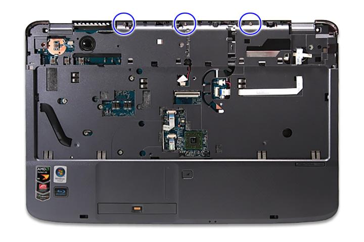 Как разобрать ноутбук Acer Aspire 5738DG/5738DZG, Aspire 5542G/5542/5242, Aspire 5738G/5738ZG/5738Z/5738/5338, Aspire 5536/5536G/5236 (44)