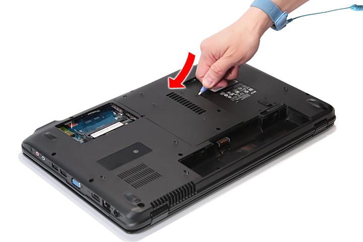 Как разобрать ноутбук Acer Aspire 5738G/5738ZG/5738Z/5738/5338, Aspire 5536/5536G/5236 (11)