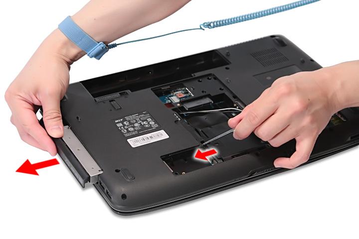 Как разобрать ноутбук Acer Aspire 5738G/5738ZG/5738Z/5738/5338, Aspire 5536/5536G/5236 (24)