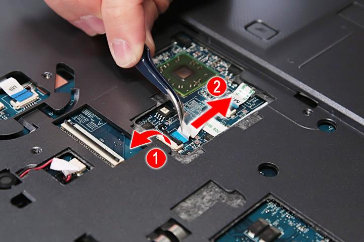 Как разобрать ноутбук Acer Aspire 5738G/5738ZG/5738Z/5738/5338, Aspire 5536/5536G/5236 (46)