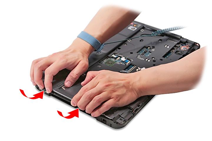 Как разобрать ноутбук Acer Aspire 5738G/5738ZG/5738Z/5738/5338, Aspire 5536/5536G/5236 (51)