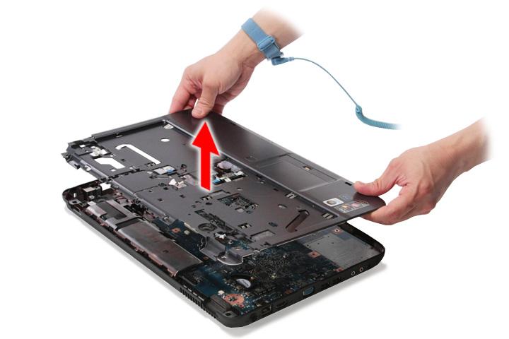 Как разобрать ноутбук Acer Aspire 5738G/5738ZG/5738Z/5738/5338, Aspire 5536/5536G/5236 (52)