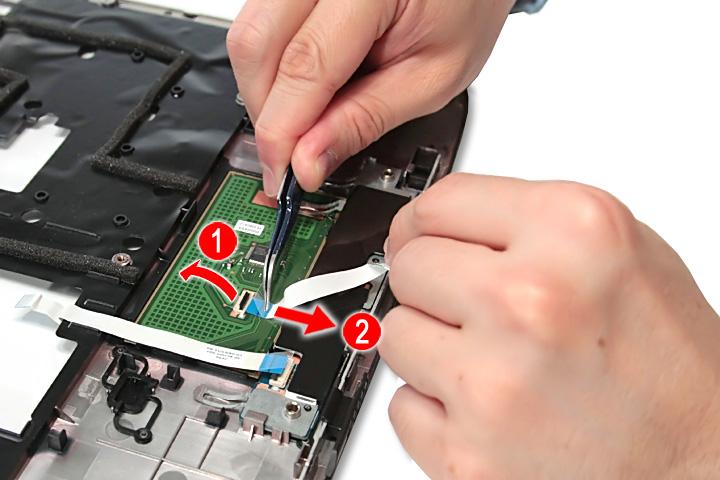 Как разобрать ноутбук Acer Aspire 5738G/5738ZG/5738Z/5738/5338, Aspire 5536/5536G/5236 (54)