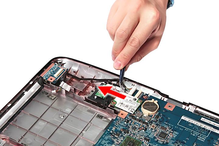 Как разобрать ноутбук Acer Aspire 5738G/5738ZG/5738Z/5738/5338, Aspire 5536/5536G/5236 (64)