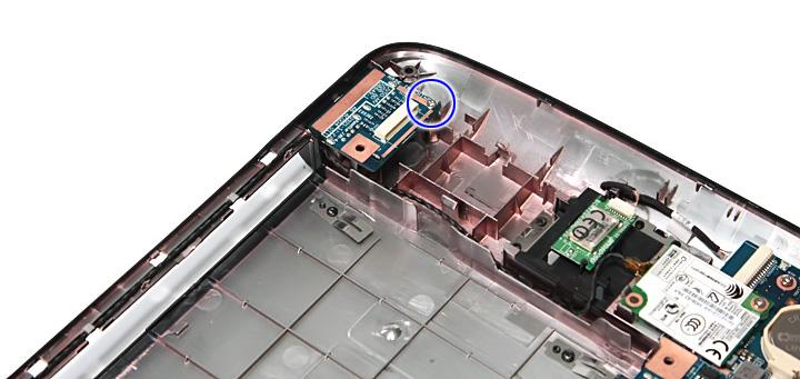 Как разобрать ноутбук Acer Aspire 5738G/5738ZG/5738Z/5738/5338, Aspire 5536/5536G/5236 (65)