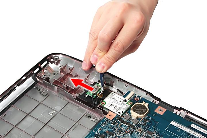 Как разобрать ноутбук Acer Aspire 5738G/5738ZG/5738Z/5738/5338, Aspire 5536/5536G/5236 (67)