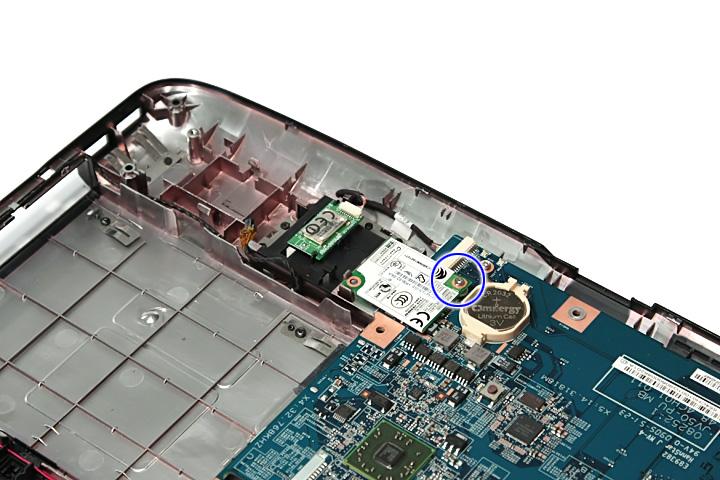 Как разобрать ноутбук Acer Aspire 5738G/5738ZG/5738Z/5738/5338, Aspire 5536/5536G/5236 (68)