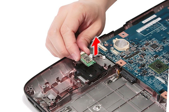 Как разобрать ноутбук Acer Aspire 5738G/5738ZG/5738Z/5738/5338, Aspire 5536/5536G/5236 (71)