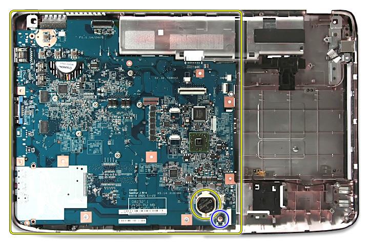 Как разобрать ноутбук Acer Aspire 5738G/5738ZG/5738Z/5738/5338, Aspire 5536/5536G/5236 (76)