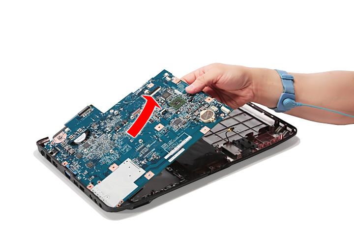 Как разобрать ноутбук Acer Aspire 5738G/5738ZG/5738Z/5738/5338, Aspire 5536/5536G/5236 (77)