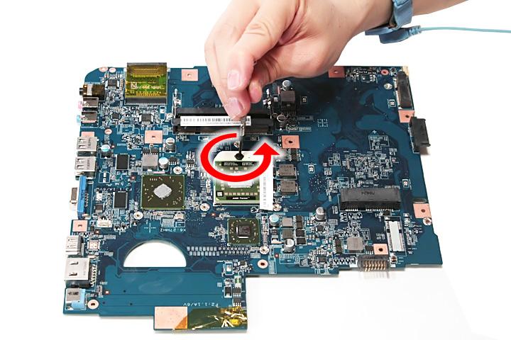 Как разобрать ноутбук Acer Aspire 5738G/5738ZG/5738Z/5738/5338, Aspire 5536/5536G/5236 (83)