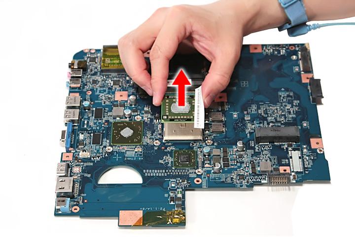 Как разобрать ноутбук Acer Aspire 5738G/5738ZG/5738Z/5738/5338, Aspire 5536/5536G/5236 (84)