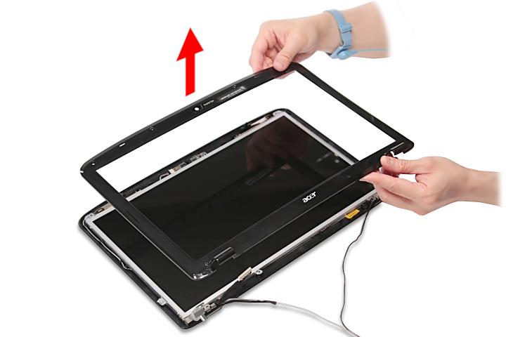 Как разобрать ноутбук Acer Aspire 5738G/5738ZG/5738Z/5738/5338, Aspire 5536/5536G/5236 (89)