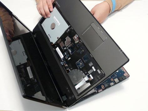 Как разобрать ноутбук Acer Aspire 5741/5741G (52)