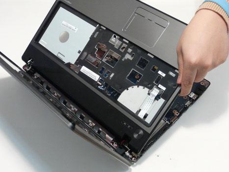 Как разобрать ноутбук Acer Aspire 5741/5741G (53)