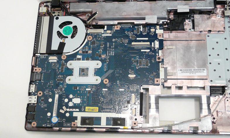 Как разобрать ноутбук Acer Aspire 5741/5741G (93)