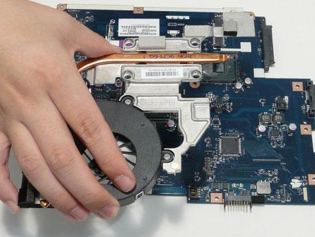 Как разобрать ноутбук Acer Aspire 5741/5741G (105)