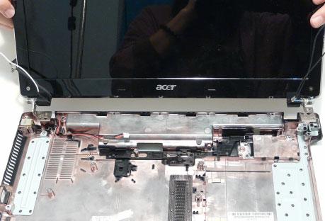 Как разобрать ноутбук Acer Aspire 5741/5741G (120)