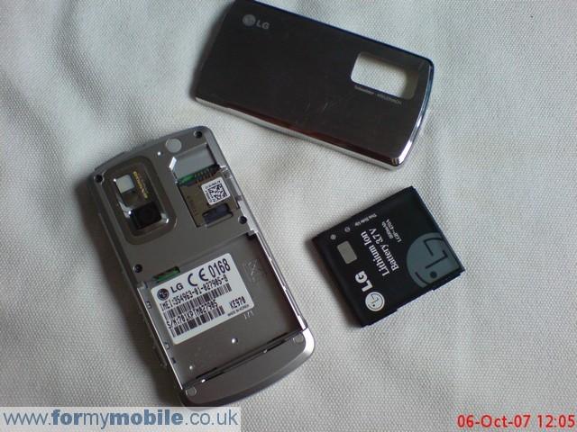 как разобрать телефон LG KE970 (2)