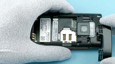 Как разобрать телефон Nokia X2 00 для замены дисплея или корпуса (6)